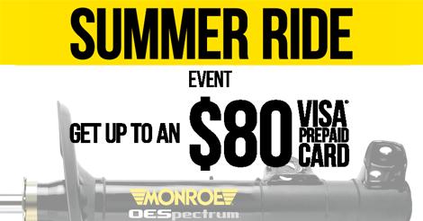 Monroe Summer Ride